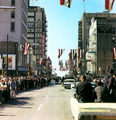 JFK Motorcade Dallas 22 Nov 63